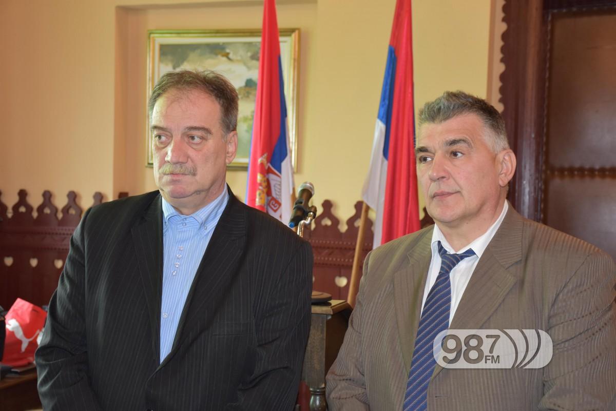 Milan Skrbic i Dragan rastovic