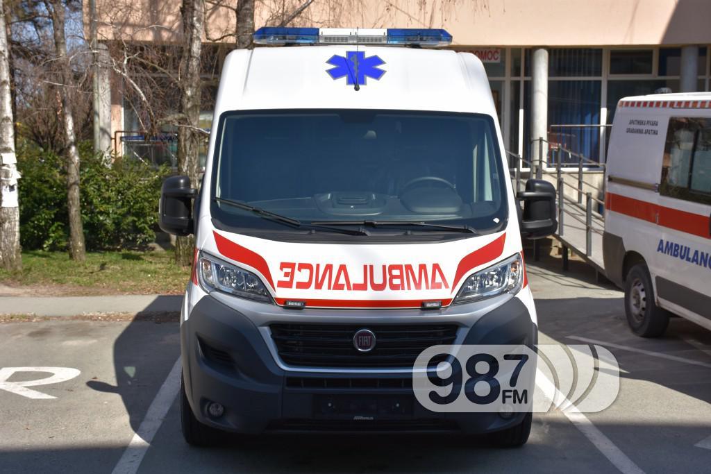Novo sanitetsko vozilo, Milan Skrbic, Branka Baic, dom zdravlja (1)