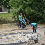 Izgradnja koka kola parka, igraliste za decu  (1)